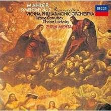 Gustav Mahler (1860-1911): Symphonie Nr.2 (SHM-SACD), Super Audio CD Non-Hybrid