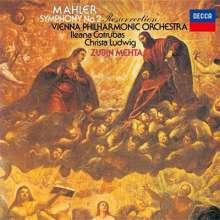 Gustav Mahler (1860-1911): Symphonie Nr.2 (Ultimate High Quality CD), CD