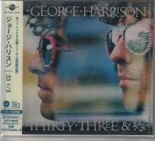 George Harrison (1943-2001): Thirty Three & 1/3 (UHQCD/MQA-CD) (Reissue) (Limited-Edition), CD