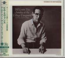 Bill Evans (Piano) (1929-1980): Sunday At The Village Vanguard (UHQCD/MQA-CD) (Reissue) (Limited-Edition), CD