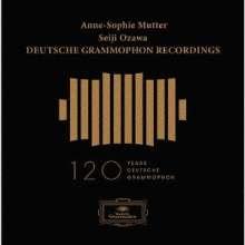 Anne-Sophie Mutter / Seiji Ozawa - Deutsche Grammophon Recordings (SHM-CDs), 10 CDs