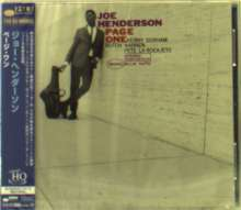 Joe Henderson (1937-2001): Page One (UHQCD), CD