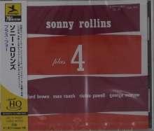 Sonny Rollins (geb. 1930): Plus 4, CD