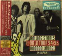 The Rolling Stones: Rolling Stones World Tour 94/95 Voodoo Lounge In Japan (DVD + 2 SHM-CD + Photobook) (Digipack), 2 CDs