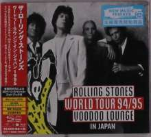 The Rolling Stones: Rolling Stones World Tour 94/95 Voodoo Lounge In Japan (Blu-ray + 2 SHM-CD + Photobook) (Digipack), 3 Blu-ray Discs