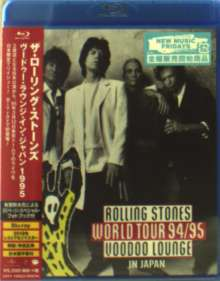 The Rolling Stones: Rolling Stones World Tour 94/95 Voodoo Lounge In Japan (+ Photobook) (Region A), Blu-ray Disc