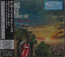 The Rolling Stones: Sweet Summer Sun: Hyde Park Live 2013 (Blu-ray + 2 SHM-CD) (Digipack) (CD-Format), 1 Blu-ray Disc und 2 CDs