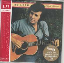 Don McLean: Playin' Favorites (SHM-CD) (Papersleeve), CD