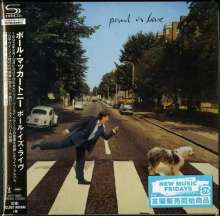 Paul McCartney (geb. 1942): Paul Is Live (SHM-CD) (Digisleeve), CD
