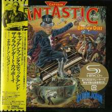 Elton John (geb. 1947): Captain Fantastic And The Brown Dirt Cowboy (SHM-CD) (Digisleeve), CD