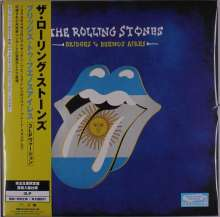 The Rolling Stones: Bridges To Buenos Aires (Limited Edition) (Black Vinyl) (Non Japan-made Disc), 3 LPs