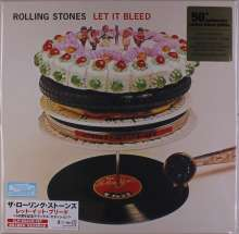 """The Rolling Stones: Let It Bleed (50th Anniversary) (Limited Deluxe Box) (Non Japan-made Discs) (180g), 2 LPs, 2 Super Audio CDs, 1 Single 7"""" und 1 Buch"""