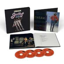 Cream: Goodbye Tour Live 1968 (SHM-CDs), 4 CDs und 1 Buch