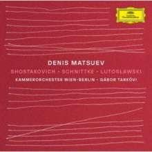 Denis Matsuev - Schostakowitsch / Schnittke / Lutoslawski (Ultimate High Quality CD), CD