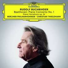 Ludwig van Beethoven (1770-1827): Klavierkonzert Nr. 1 (Ultimate High Quality CD), CD