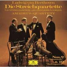 Ludwig van Beethoven (1770-1827): Streichquartette Nr.9 & 10 (Ultimate High Quality CD), CD