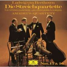 Ludwig van Beethoven (1770-1827): Streichquartette Nr.15 & 16 (Ultimate High Quality CD), CD