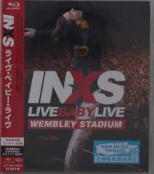 INXS: Live Baby Live, Blu-ray Disc