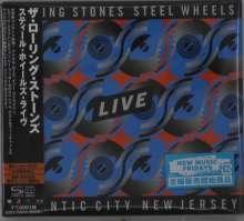 The Rolling Stones: Steel Wheels Live (Atlantic City 1989) (2 SHM-CDs + SD Blu-ray Disc), 2 CDs und 1 Blu-ray Disc