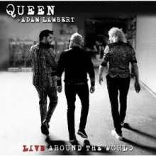 Queen & Adam Lambert: Live Around The World (SHM-CD) (Digipack), 1 CD und 1 DVD