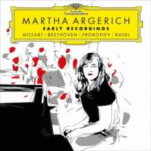 Martha Argerich - Early Recordings (Ultimate High Quality CD), 2 CDs