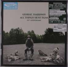George Harrison (1943-2001): All Things Must Pass (50th Anniversary Edition) (Super Deluxe Edition) (SHM-CD), 5 CDs und 1 Blu-ray Audio