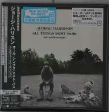 George Harrison (1943-2001): All Things Must Pass (50th Anniversary Edition) (Limited Deluxe Edition) (SHM-CDs), 3 CDs