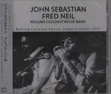 John Sebastian & Fred Neil: Rolling Coconut Revue Japan Concert 1977, CD