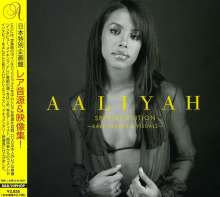 Aaliyah: Special Edition: Rare Tracks & Visuals (CD + DVD), 1 CD und 1 DVD