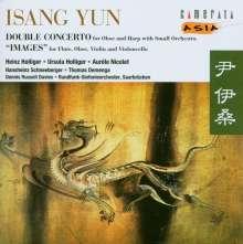 Isang Yun (1917-1995): Doppelkonzert für Oboe,Harfe & Orchester, CD