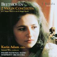 Ludwig van Beethoven (1770-1827): Violinkonzert WoO.5 (Fragment), CD