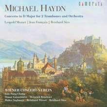 Leopold Mozart (1719-1787): Serenade für Trompete,Posaune & Orchester D-Dur, CD