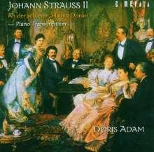 Doris Adam - Walzer-Transkriptionen von Johann Strauss II, CD