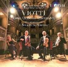 Giovanni Battista Viotti (1755-1824): Streichquartette Nr.1-3, CD