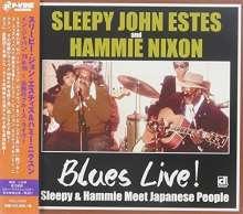 Sleepy John Estes & Hammie Nixon: Blues Live! Sleepy & Hammie Meet Japanese People, CD