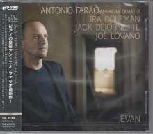 Antonio Faraò (geb. 1965): Evan, CD