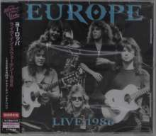 Europe: Live 1986, CD