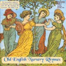 Old English Nursery Rhymes, CD