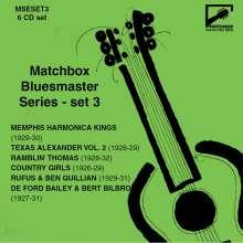 Matchbox Bluesmaster Series Set 3, 6 CDs