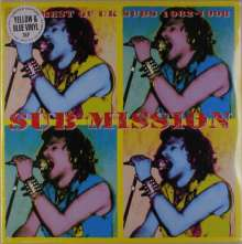 UK Subs: Sub Mission: Best Of 1982-1998 (Limited-Edition) (Yellow & Blue Vinyl), 2 LPs