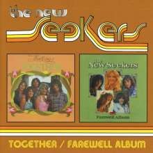 The New Seekers: Together / Farewell Album (Expanded-Edition), 2 CDs