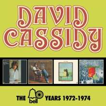 David Cassidy: The Bell Years 1972 - 1974, 4 CDs