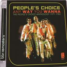 People's Choice: Any Way You Wanna: The People's Choice Anthology 1971 - 1981, 2 CDs