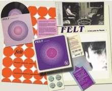 "Felt (England): Crumbling The Antiseptic Beauty (signiert), 1 Single 7"" und 1 CD"
