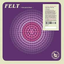 "Felt (England): Train Above The City (Limited-Edition), 1 Single 7"" und 1 CD"
