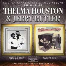 Thelma Houston & Jerry Butler: Thelma & Jerry / Two To One, CD