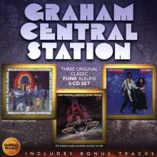 Graham Central Station: Now You Wanta Dance / My Radio Sure Sounds Good To Me / Star Walk, 2 CDs
