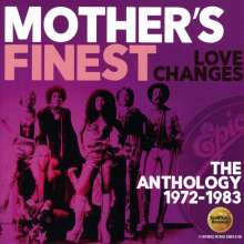 Mother's Finest: Love Changes: The Anthology 1972 - 1983, 2 CDs