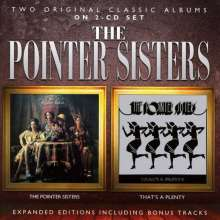Pointer Sisters: The Pointer Sisters / That's A Plenty, 2 CDs