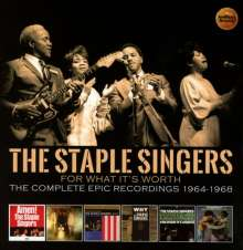 The Staple Singers: For What It's Worth: The Complete Epic Recordings 1964 - 1968, 3 CDs